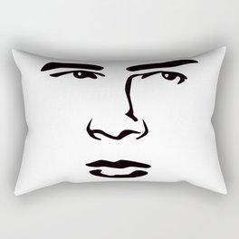 Old Hollywood - James Byron Dean Rectangular Pillow