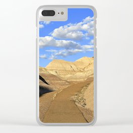 The Path Less Traveled--Petrified Forest, Arizona Clear iPhone Case