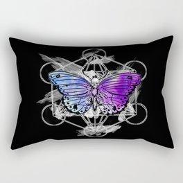 Geometric Butterfly Rectangular Pillow
