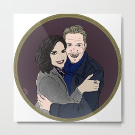 Return of Outlaw Queen Here's to all the adventures we had Metal Print