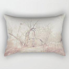 creepy tree Rectangular Pillow