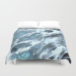 Blue animal print Duvet Cover