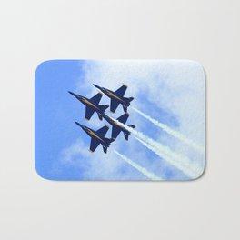 Blue Angels #s 1 2 3 4 Bath Mat