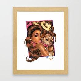 The Grandes Framed Art Print