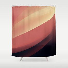 Vintage dunes Shower Curtain