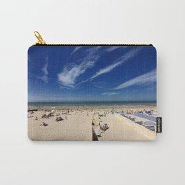 On the beach, blue sky Carry-All Pouch