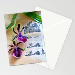 How Now Brown Flow-er Stationery Cards