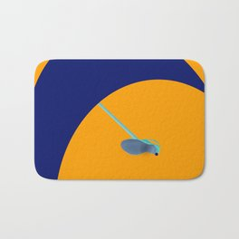 Flying Higher and Higher in May - shoes stories Bath Mat