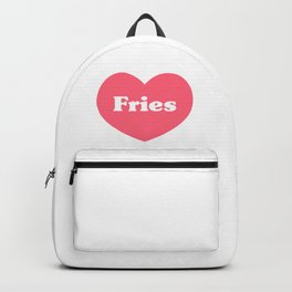 Heart Fries Backpack