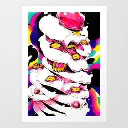 hmmm m Art Print