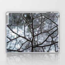 Snowy Branches Laptop & iPad Skin