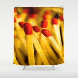 match happiness Shower Curtain