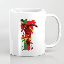CR7 Ronaldo Portugal Coffee Mug