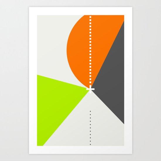 Spot Slice 02 Art Print