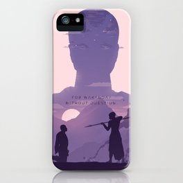 Her Nation's Honor iPhone Case