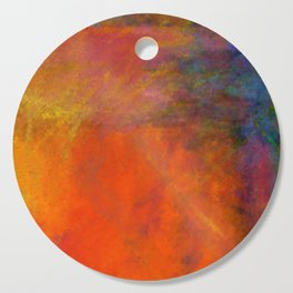 Orange Study #2 Digital Painting Cutting Board