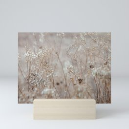 Wildflowers in the Autumn Mini Art Print