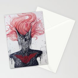 Batwoman Skull Stationery Cards