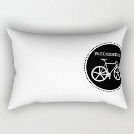 Bicycle: Ride or Die Rectangular Pillow