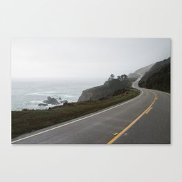 West Cost Road Canvas Print