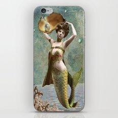 She loves the sea. iPhone & iPod Skin