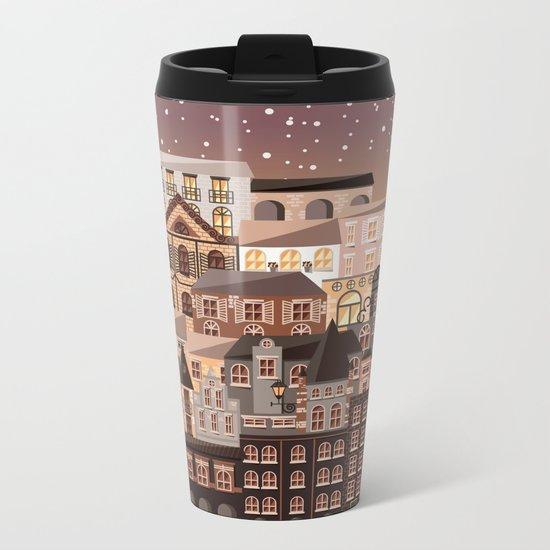 Moonlight Homes Metal Travel Mug