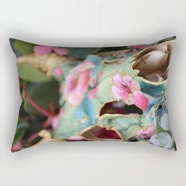 Painted Skull - IV Rectangular Pillow