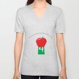 Apple Tree Pose Unisex V-Neck