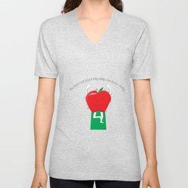 Apple Tree Pose Unisex V-Neck