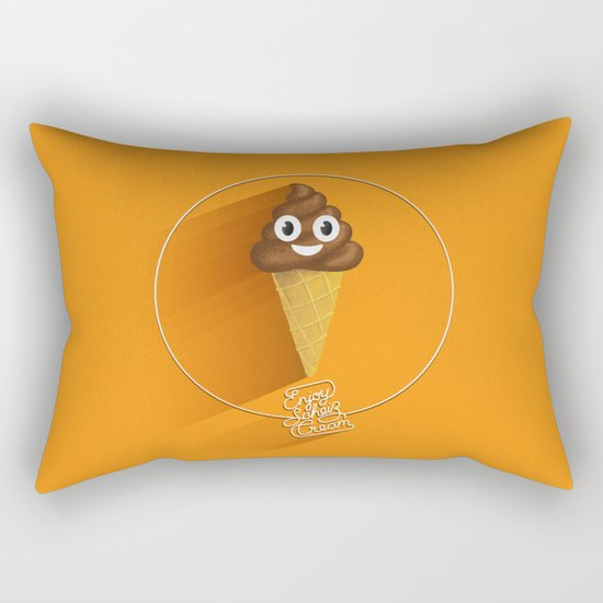 ScheißCream™  // icecream Rectangular Pillow