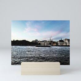 A London Love Story Mini Art Print