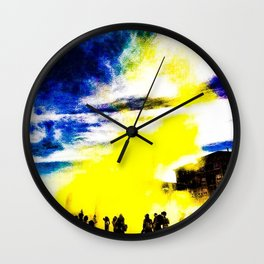 Color Run Wall Clock