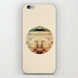Burning Sky iPhone Skin