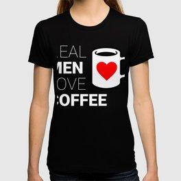 Real Men Love Coffee T-shirt