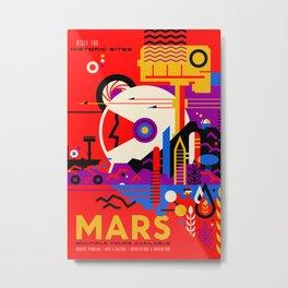 Vintage poster - Mars Metal Print