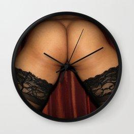 Perfect Asian Ass, Asian Fanny, Hold Ups, Spanking Photos Wall Clock