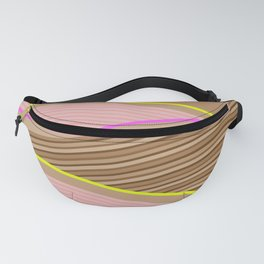Happy Times - Chocolate Fields Fanny Pack