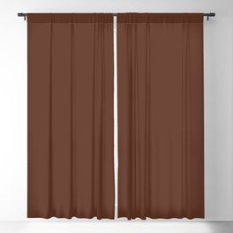 Sunset Stage Right ~ Smooth Chocolate Blackout Curtain