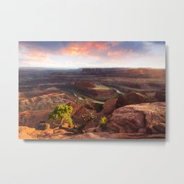 Dead Horse Point Sunset, Utah Metal Print