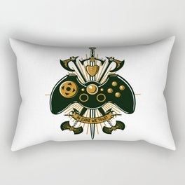 In Game We Trust Rectangular Pillow