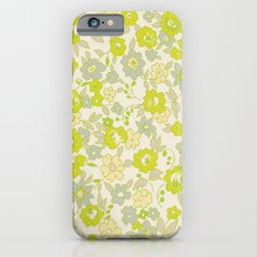 small floral in neon iPhone 6s Slim Case