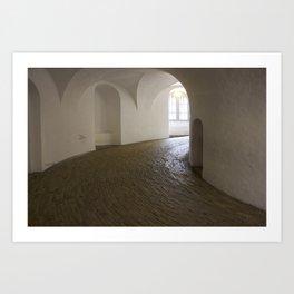 Copenhagen Round Tower 2 Art Print