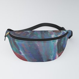 Greyhound on Red Fanny Pack