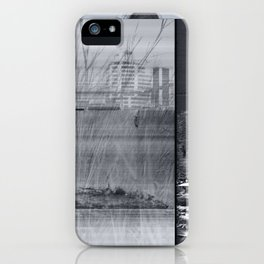 disruptions iPhone Case