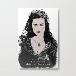 Katie McGrath - Morgana Pendragon color Metal Print