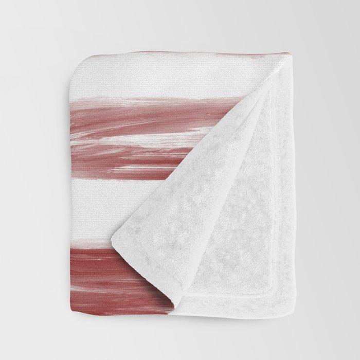 Soldier and Flag - Patriotic Throw Blanket