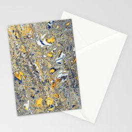 Liquid Abstract 14 Stationery Cards