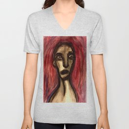 And the Memory was Marred. Unisex V-Neck