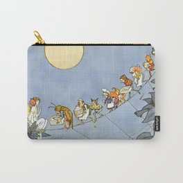 """The Fairy's Birthday"" Illustration by W Heath Robinson Carry-All Pouch"