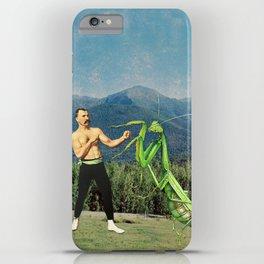 Man vs Nature, Part 1 iPhone Case
